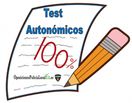 test autonomicos oposiciones policia local de extremadura
